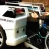 Met je rolstoel in de motor!